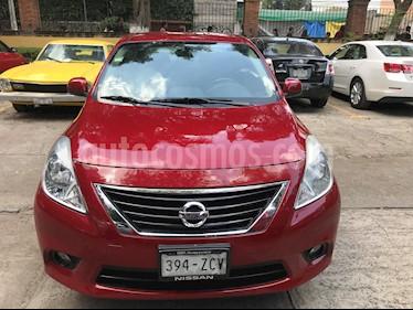 Foto venta Auto usado Nissan Versa Exclusive Aut  (2014) color Rojo precio $129,000
