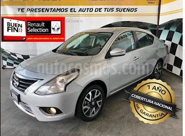Foto venta Auto Seminuevo Nissan Versa Exclusive NAVI Aut (2016) color Plata