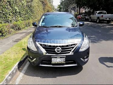Foto venta Auto usado Nissan Versa Exclusive NAVI Aut (2015) color Azul precio $143,500