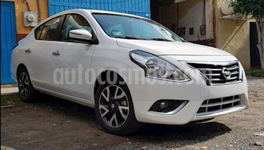 Foto venta Auto usado Nissan Versa Exclusive NAVI Aut (2018) color Blanco precio $190,000