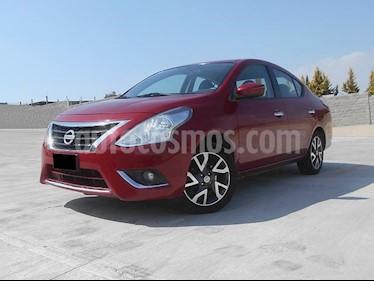 Foto venta Auto usado Nissan Versa Exclusive NAVI Aut (2015) color Rojo precio $185,000