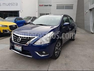 Foto venta Auto Seminuevo Nissan Versa Exclusive NAVI Aut (2018) color Azul precio $230,000