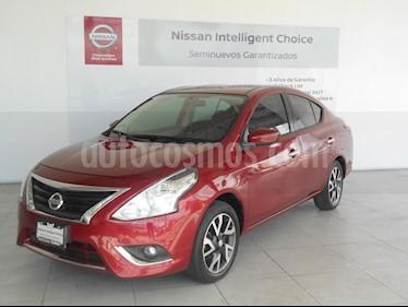 Foto venta Auto Seminuevo Nissan Versa Exclusive NAVI Aut (2016) color Rojo precio $193,000