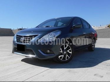 Foto venta Auto usado Nissan Versa Exclusive NAVI Aut (2016) color Azul precio $186,000
