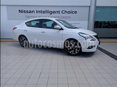 Foto venta Auto usado Nissan Versa Exclusive NAVI Aut (2018) color Blanco precio $230,000