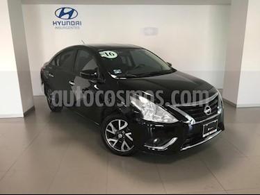 Foto venta Auto Seminuevo Nissan Versa Exclusive NAVI Aut (2016) color Negro precio $169,000