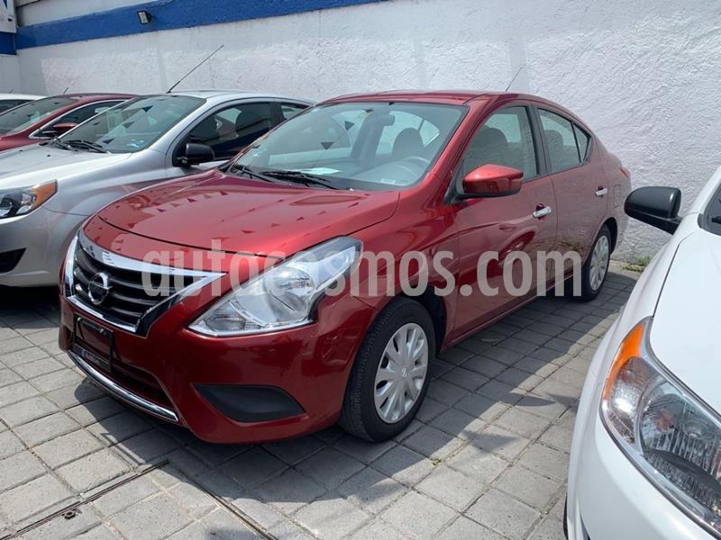Nissan Versa Advance usado (2018) color Rojo precio $190,000