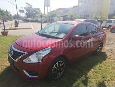 Nissan Versa Advance usado (2019) color Rojo Burdeos precio $195,000