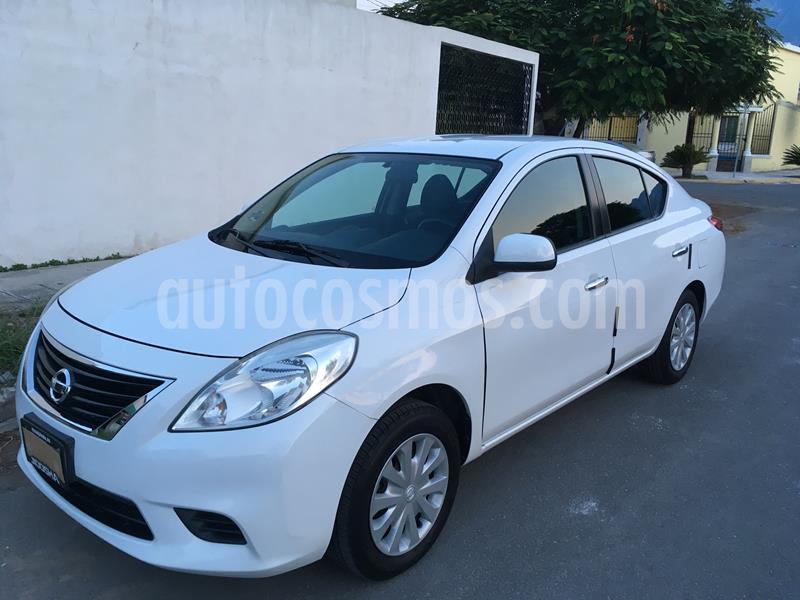 Nissan Versa Sense usado (2012) color Blanco precio $102,500