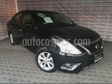 Nissan Versa Advance usado (2016) color Negro precio $155,000