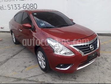 Nissan Versa Advance Aut usado (2018) color Rojo precio $194,000