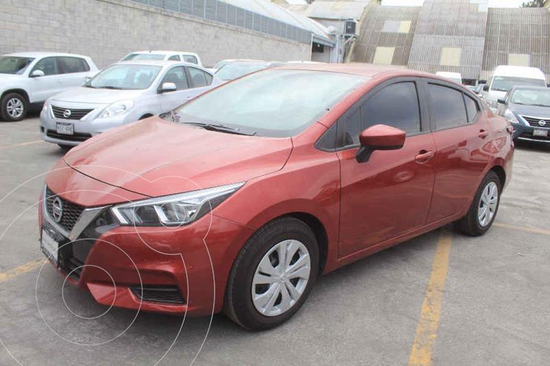 Foto Nissan Versa Sense Aut usado (2020) color Rojo precio $259,000