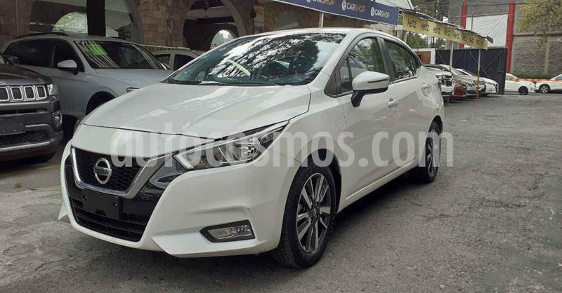 Nissan Versa Advance usado (2020) color Blanco precio $256,900