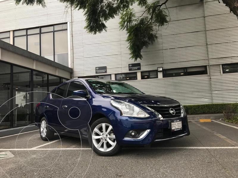 Nissan Versa Advance usado (2018) color Azul precio $175,000