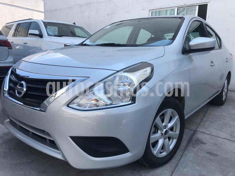 Nissan Versa Sense Aut usado (2019) color Plata precio $179,000