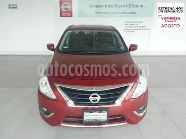 Nissan Versa 4P ADVANCE L4/1.6 AUT usado (2017) color Rojo precio $184,000
