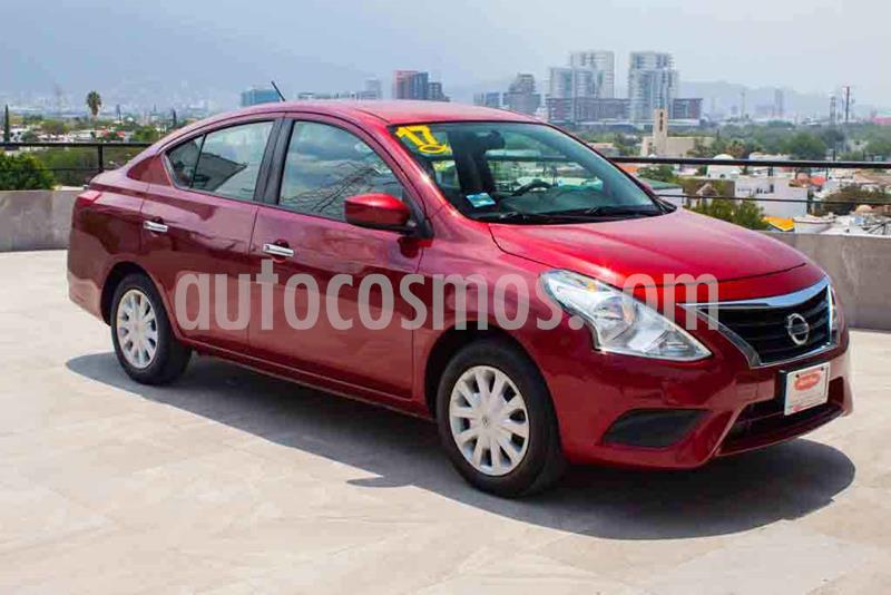 Nissan Versa Sense Aut usado (2017) color Rojo precio $152,700