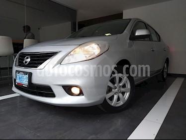 Nissan Versa Advance  usado (2014) color Plata precio $139,798