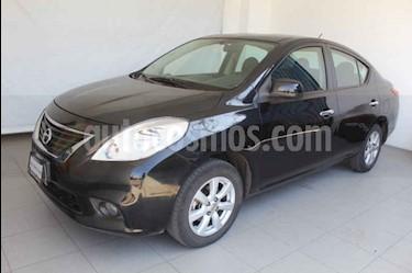 Nissan Versa Advance usado (2014) color Negro precio $139,000