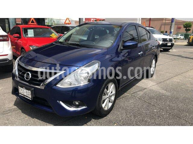 Nissan Versa Advance usado (2019) color Azul precio $199,000
