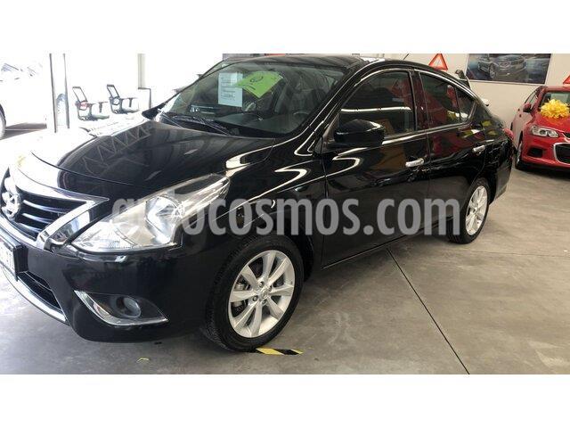 Nissan Versa Advance usado (2018) color Negro precio $180,000