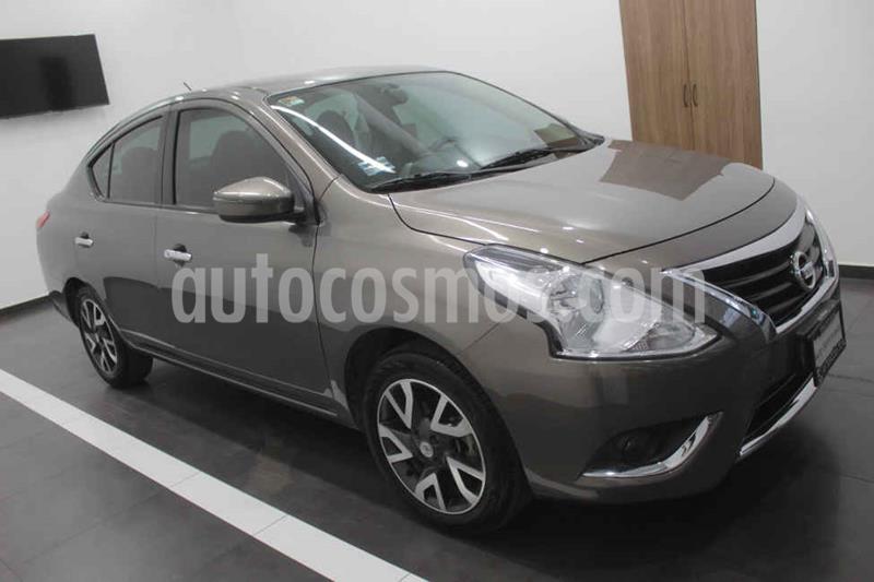 Nissan Versa Exclusive Aut usado (2016) color Gris precio $163,000