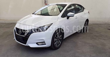 Nissan Versa Advance Aut usado (2020) color Blanco precio $249,900