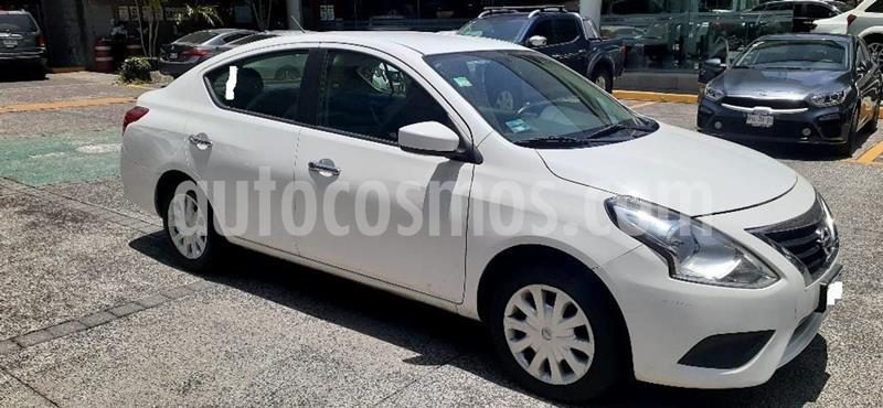 Nissan Versa Sense Aut usado (2015) color Blanco precio $136,000
