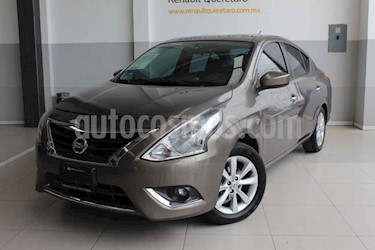 Nissan Versa 4p Advance L4/1.6 Man usado (2015) color Cafe precio $145,000