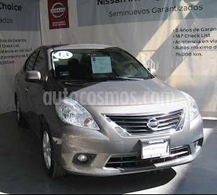 Nissan Versa Advance usado (2013) color Marron precio $113,000