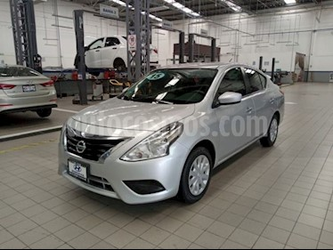 Nissan Versa Sense Aut usado (2015) color Plata precio $138,000