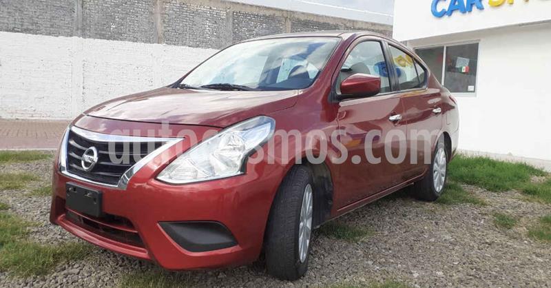 Nissan Versa Sense Aut usado (2018) color Rojo precio $143,900