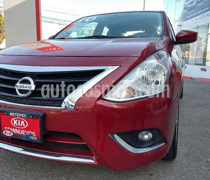 Nissan Versa Advance usado (2016) color Rojo precio $139,900