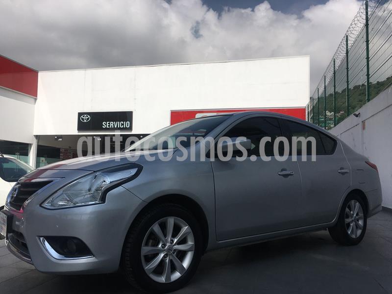 Nissan Versa Advance usado (2017) color Plata Dorado precio $155,000