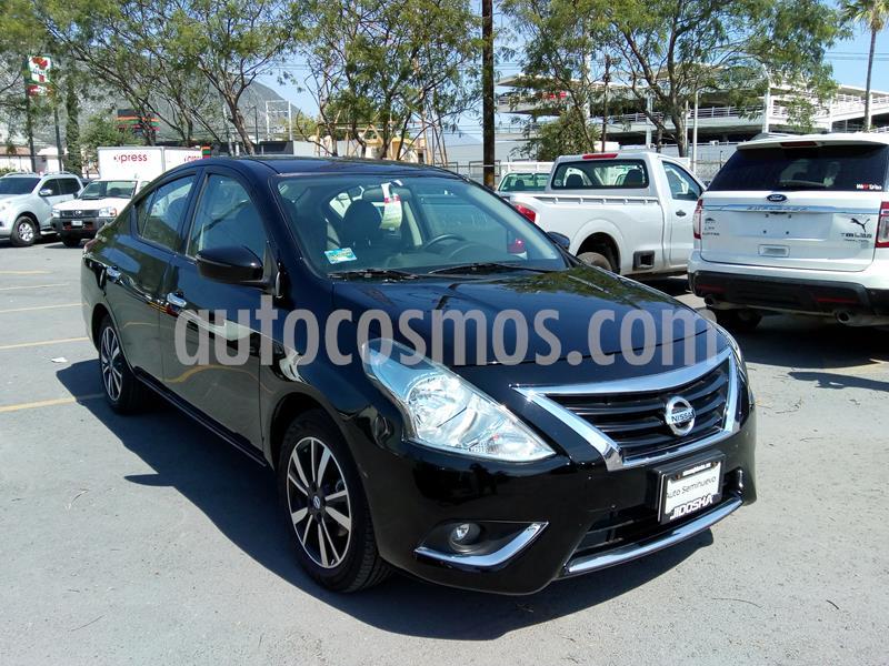 Nissan Versa Exclusive NAVI Aut usado (2019) color Negro precio $250,000