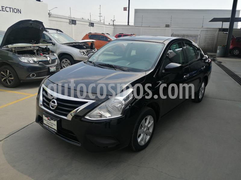 Nissan Versa Sense usado (2019) color Negro precio $195,000
