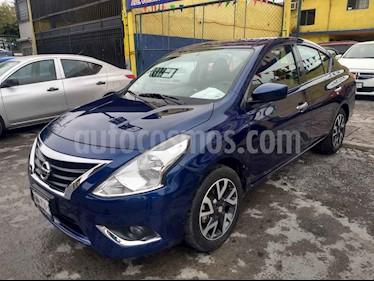 Nissan Versa Advance usado (2019) color Azul precio $189,000