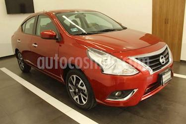 Nissan Versa 4p Advance L4/1.6 Man usado (2019) color Rojo precio $235,000