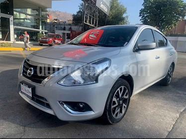 Nissan Versa 4p Advance L4/1.6 Man usado (2019) color Plata precio $218,000