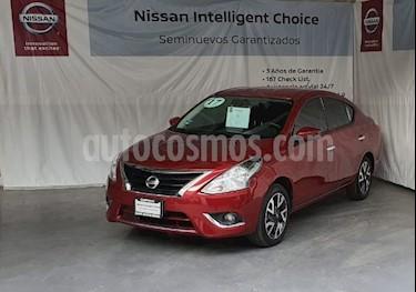 Nissan Versa Exclusive Aut usado (2017) color Rojo precio $200,000