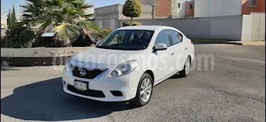 Nissan Versa Sense Aut usado (2012) color Blanco precio $108,000
