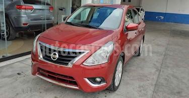 Nissan Versa 4p Advance L4/1.6 Aut usado (2018) color Rojo precio $177,800