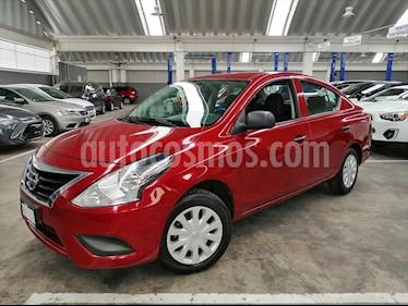 Nissan Versa Drive usado (2019) color Rojo precio $169,900