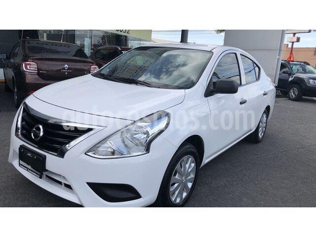 Nissan Versa Drive usado (2019) color Blanco precio $165,000
