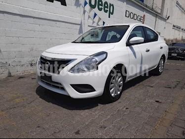 Nissan Versa 4P SENSE TM5 A/AC. VE. usado (2018) color Blanco precio $165,000
