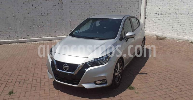 Nissan Versa Advance Aut usado (2020) color Plata precio $247,900