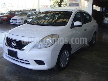 Nissan Versa Sense usado (2012) color Blanco precio $135,000