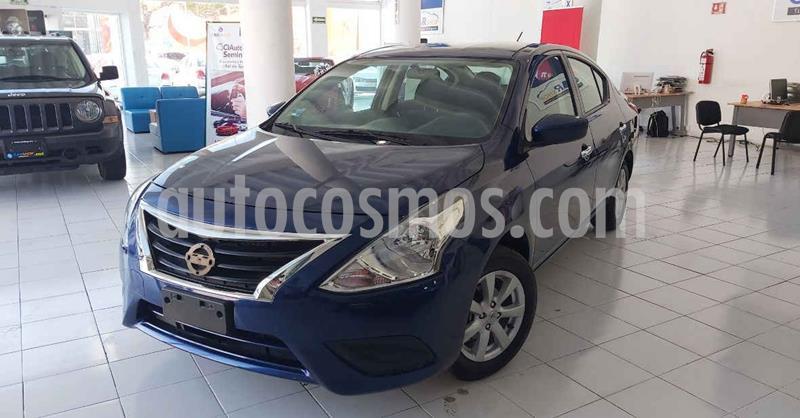 Nissan Versa Sense Aut usado (2019) color Azul precio $169,900