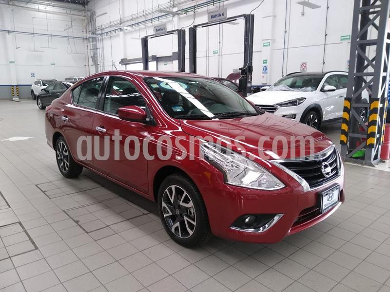 Nissan Versa Advance Aut usado (2019) color Rojo precio $245,000