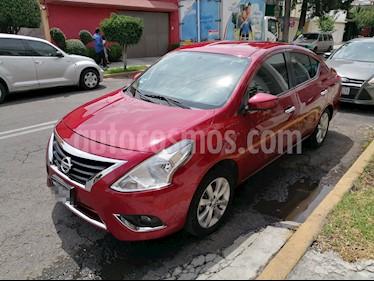 Nissan Versa Advance usado (2017) color Rojo precio $140,000